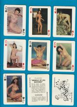 Vintage collectable playing cards Pin-up cards, by Fortune